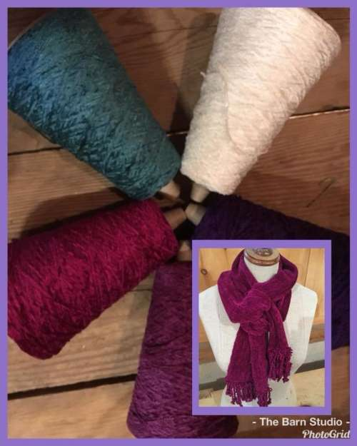 Weave a Chenille Scarf Workshop