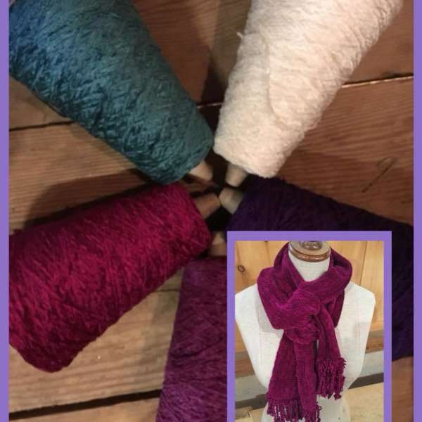 Chenille Scarf Workshop