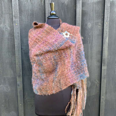 Mohair Shawl 08   **SOLD**
